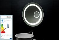 Neuesbad LED Lichtspiegel mit Schminkspiegel