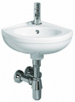 Keramag Eck-Handwaschbecken Fidelio 274025, Schenkellänge: 270 mm, 274025000, weiss
