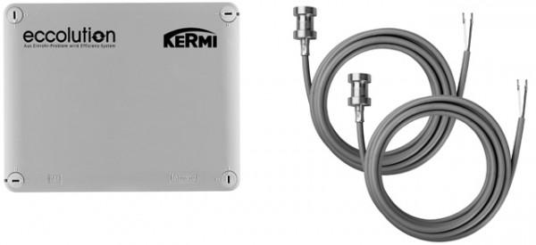 Kermi eccolution Sollwertregler ohne PLC inkl. 2 Anlegefühler, ZE00730001