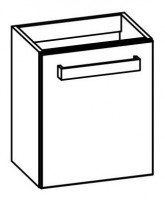 """Artiqua COLLECTION 413 Waschtischunterschrank zu""""RenovaNr.1 Plan""""272146 B:400mm"""