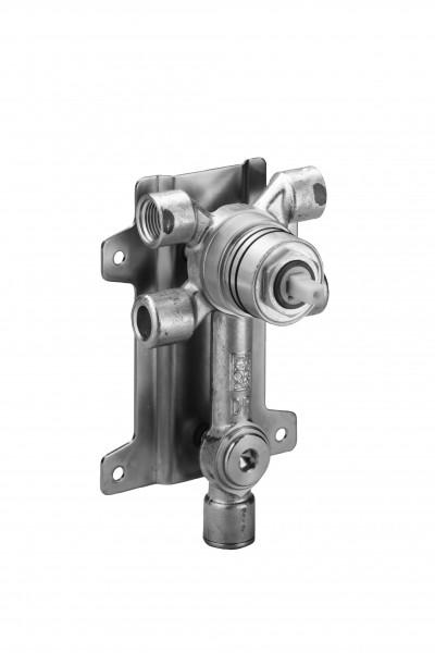 Dornbracht Bidet-Unterputz-Einhandbatterie , Abgang unten Bausatz Vormontage