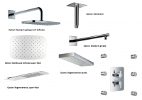 HSK Shower Set 2.06 Softcube chrom