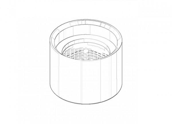 Dornbracht Luftsprudler Ersatzteile 90230106001 platin, 90230106001-08
