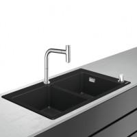 Hansgrohe Select 200 Spülencombi 770 chrom C51-F770-10, 43221000