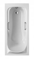 Acryl Badewanne Korfu ohne Griffe 1700x800 mm, weiß