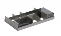 Cosmic Modular Kit 2 Schubladenaufteiler + 3 Container , smoked, 7446718