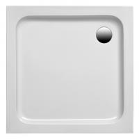 Brausetasse Samos 800x800x60 mm, weiß