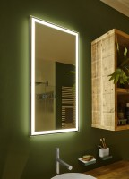 Zierath LED Spiegel Visum Kristallspiegel, BxH: 1200x800