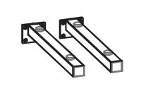 Artiqua Dimension 112 Konsolen-Set (2 Stück) für  Waschtische bis 850mm 101-WTK-450-02