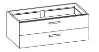 """Artiqua 412 COLLECTIN 412 Waschtischunterschrank zu """"Daylight"""" K0729 B:1250mm"""