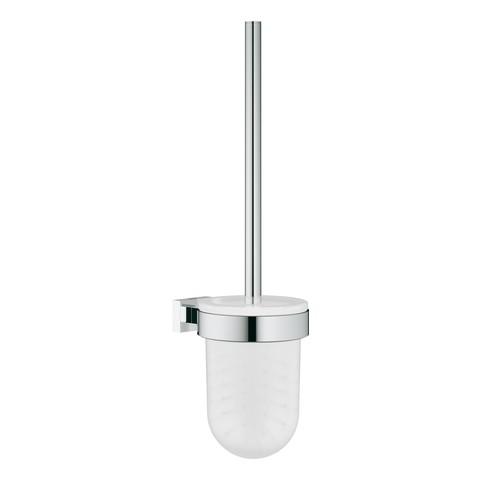 Grohe WC-Bürstengarnitur Essentials Cube 40513 Wandmontage Metall chrom, 40513001