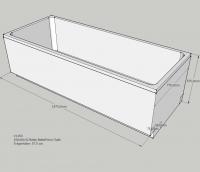 Neuesbad Wannenträger für Bette Form/Safe 190x80