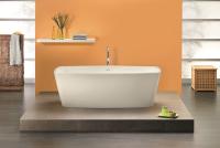Freistehende Badewanne Primera 1700x800x570 mm, weiß