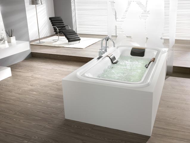 hoesch whirlwanne ergo 6436 kombi system. Black Bedroom Furniture Sets. Home Design Ideas
