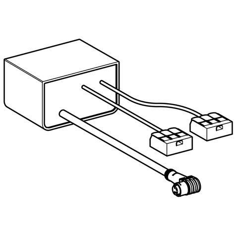 Geberit Netzteil 230 V / 12 V / 50 H für Geruchsabsaugung, 243971001
