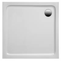 Brausetasse Aruba 1000x800x30 mm, weiß