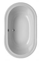 Acryl Oval Badewanne Kiara 1950 x 1150 mm, weiß