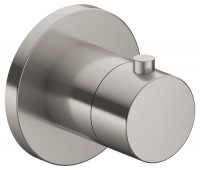 Keuco Thermostatarmatur IXMO 59553, rund, Nickel gebürstet, 59553050001