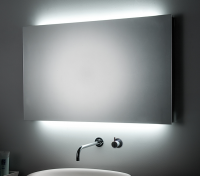 KOH-I-NOOR LED Spiegel mit Raumbeleuchtung, B: 1000, H: 800, T: 55 mm