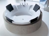 Hoesch Badewanne Aviva Rund 1800 mit
