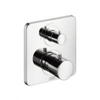 Hansgrohe Thermostat Unterputz Axor Citterio M F-Set chrom m.Absperrventil/Hebelgriff, 34705000