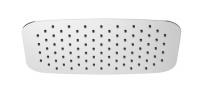 HSK Softcube Kopfbrause super-flach 400 x 250 x 2 mm, chrom