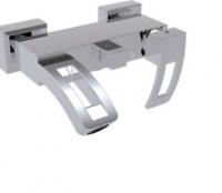 AquaConcept Duo Aufputz Einhand-Brausearmatur  mit Auslauf
