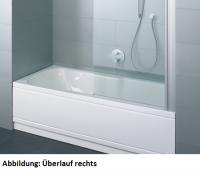 Bette Rechteck-Badewanne Set Comfort 3660, 160x75x38 cm