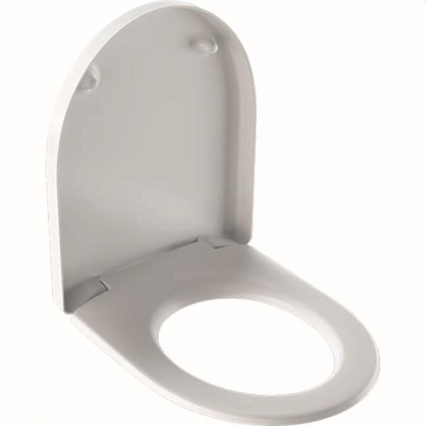 Geberit (Keramag) WC-Sitz iCon 574130, mit Absenkautomatik, 574130000, weiss