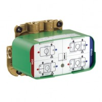 Hansgrohe Thermostatmodul Unterputz Axor ONE Grundset, 45710180