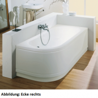 Bette Rechteck-Badewanne Pur V Comfort 8763, 185x85x45 cm
