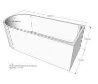 Neuesbad Wannenträger für Bette Starlet 2 175x80 oval
