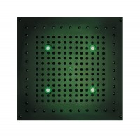 Bossini DREAM Cube Flat light RGB Cromotherapy 370 x 370 mm, mit 4 LED`s