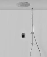 Tres elektronisches Thermostat Brauseset, mit Deckenbrause 380 mm Durchmesser