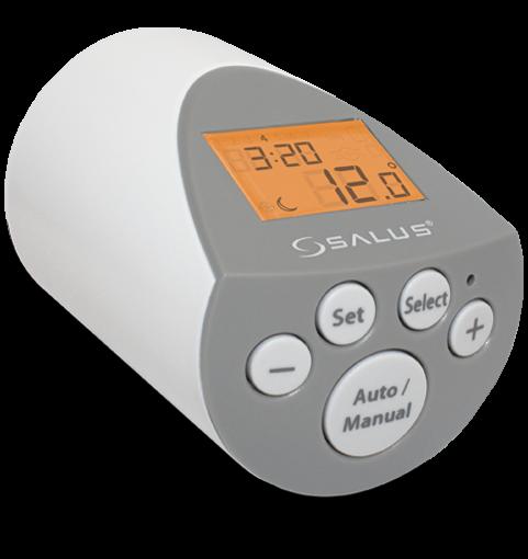 Salus elektronisches Heizkörper-Thermostat PH60 180601