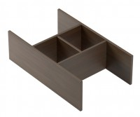 Emco monolith Schubladeneinsatz, 422 x 130x 197 mm, nussbaum, 958351010