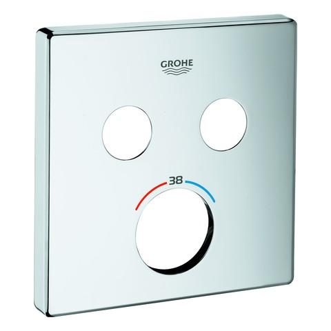 GROHE Rosette 49039 für SmartControl für SmartControl UP-THM mit 2 ASV chrom, 49039000