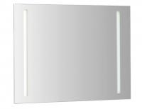 Cosmic Lighting Spiegel mit seitlicher Hinterlegter Beleuchtung Leuchtstoffröre (120X90cm)