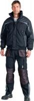 Terrax  Aussenhandel Pilotenjacke Gr. XXXL schwarz/grau 65% PES/35% CO, 3681 FB106