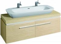 Keramag Waschtischunterschrank Silk 816040, 1400x400x470mm Eiche Echtholzfurnier, Y816040000