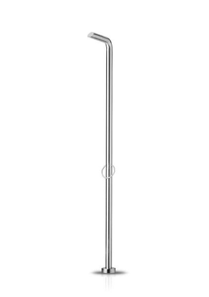 JEE-O pure shower 01 freistehende Dusche, edelstahl gebürstet, 300-6100