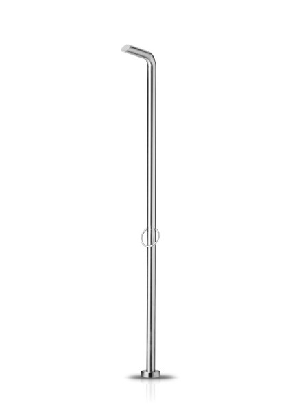 JEE-O pure shower 01 freistehende Dusche, edelstahl poliert, 300-6101
