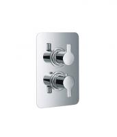 HSK Softcube Unterputz-Thermostat, mit 3-Wege Umsteller