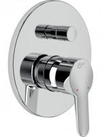 Ideal Standard Badearmatur UP CONNECT BLUE, Bausatz 2, Chrom, A5837AA