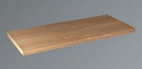 Neuesbad Konsolenplatte Trägerplatte Holz, B: 1550, T:440, H:38 mm, Walnuss-P