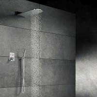 Steinberg Serie 390  Wall Rain Regenpaneel 600x250mm, mit direktem Wandanschluss, 3905651