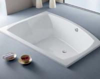Hoesch Badewanne Largo asymmetrisch 1800x1300
