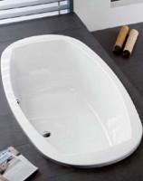 Hoesch Badewanne Largo 1800x800, weiß