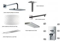 HSK Shower Set 2.26 Softcube chrom