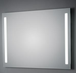 KOH-I-NOOR T5 Wandspiegel mit Seitenbeleuchtung, B: 60 cm, H: 40 cm